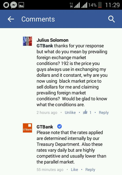 A Frustrated Gtbank Customer Took To Facebook Ask His Bank Some Mind Troubling Question And The Following Conversation Ensued Between Them