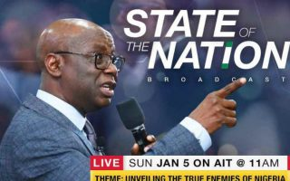 PASTOR 'TUNDE BAKARE AT THE STATE OF THE NATION