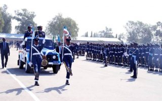 Nigerian Air Force recruits
